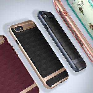 Чехол для iPhone 7 / 8 Caseology Parallax Matte Black