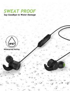Наушники беспроводные Bluetooth с защитой от воды Yoozon