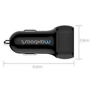 Автозарядка с двумя USB-портами MaxboosDDUAL-Port Universal USB Car Charcher