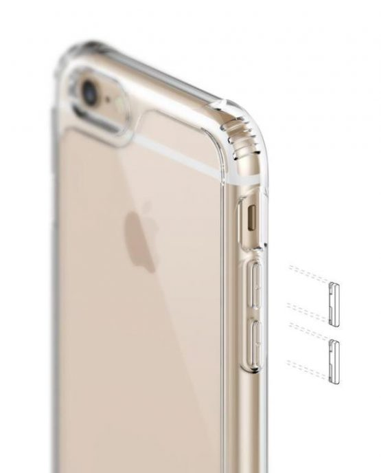 Прозрачный чехол Caseology Waterfall Clear для iPhone 6S Plus 6 Plus