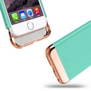 Ультратонкий чехол на iPhone 6S / 6 Caseology Savoy Mint Green