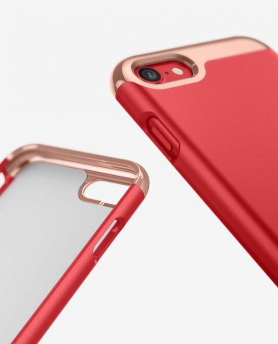 Чехол для iPhone SE 2020 / 8 / 7 Caseology Savoy Red