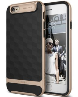 Чехол для iPhone 6 / 6S Caseology Parallax Black Gold