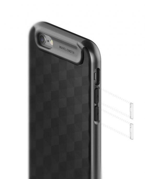 Чехол для iPhone 6 / 6S Caseology Parallax Matte Black