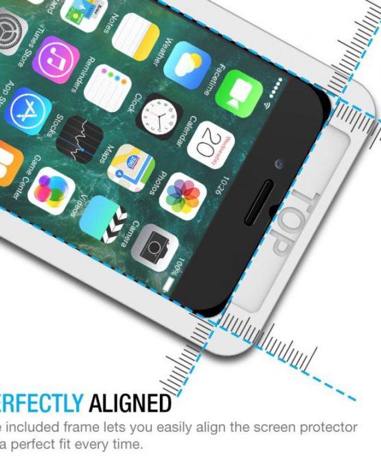 Защитное 3D стекло для iPhone 8 / 7 / 6S / 6 Maxboost