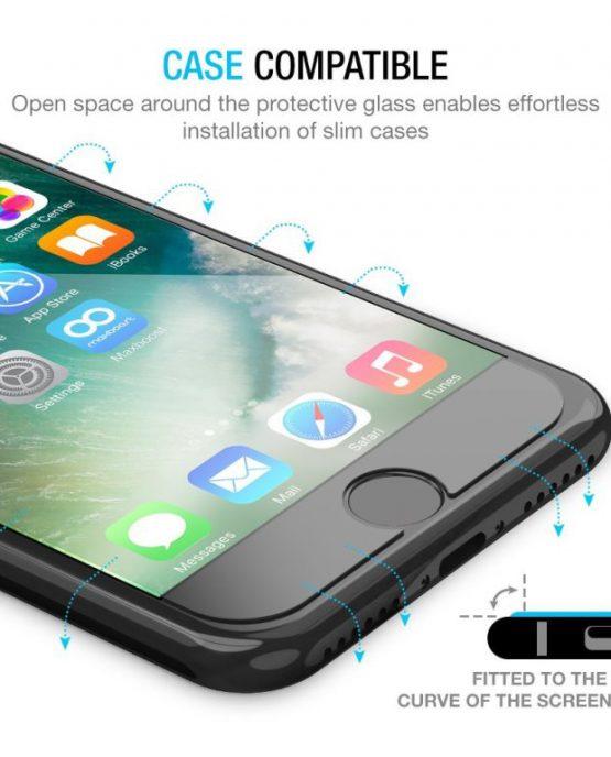 ащитное 3D стекло для iPhone 8 / 7 / 6S / 6 Maxboost