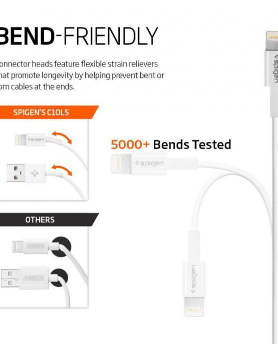 Lightning-кабель USB Spigen C10LS iPhone / iPad / iPod