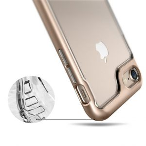 Прозрачный чехол для iPhone 7 / 8 Caseology Skyfall Gold