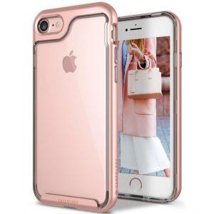 Прозрачный чехол для iPhone 7 / 8 Caseology Skyfall Rose Gold