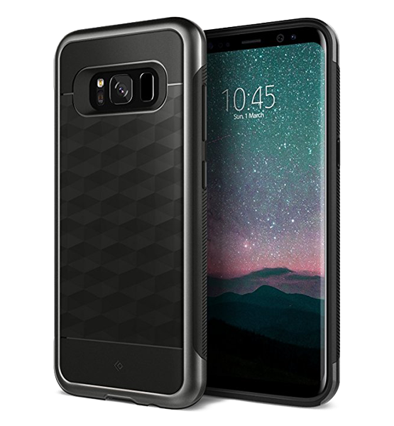 Чехол для Samsung Galaxy S8 Plus Caseology Parallax Matte Black