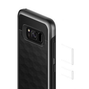 Чехол для Samsung Galaxy S8 Plus Caseology Parallax Matte Black