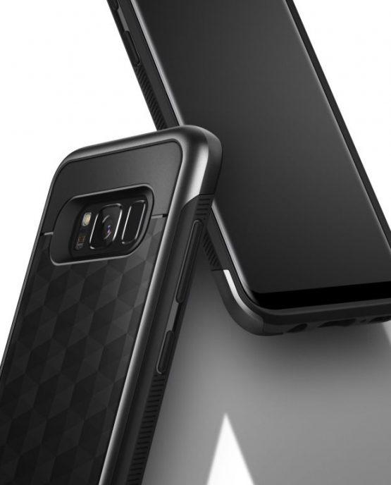Чехол для Samsung Galaxy S8 Caseology Parallax Matte Black