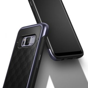 Чехол для Samsung Galaxy S8 Caseology Parallax Orchid Gray