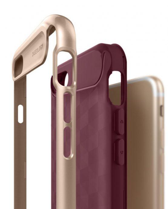Чехол для iPhone 7 / 8 Caseology Parallax Burgundy