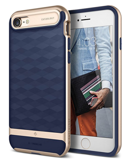 Чехол для iPhone 7 / 8 Caseology Parallax Navy Blue