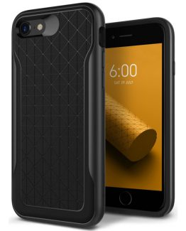 Чехол для iPhone 7 / 8 Caseology Apex Black / Warm Gray