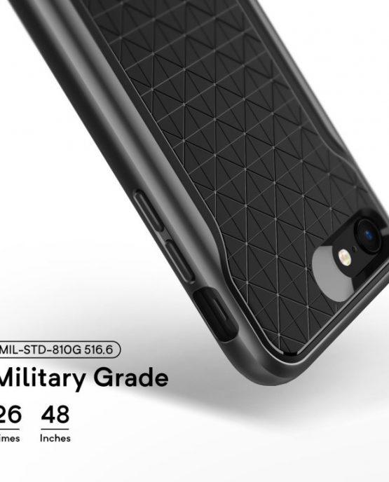 Чехол для iPhone 7 / 8 Caseology Apex Black / Warm Gray