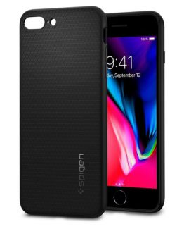 Чехол Spigen Liquid Air Armor Black для iPhone 7 Plus / 8 Plus
