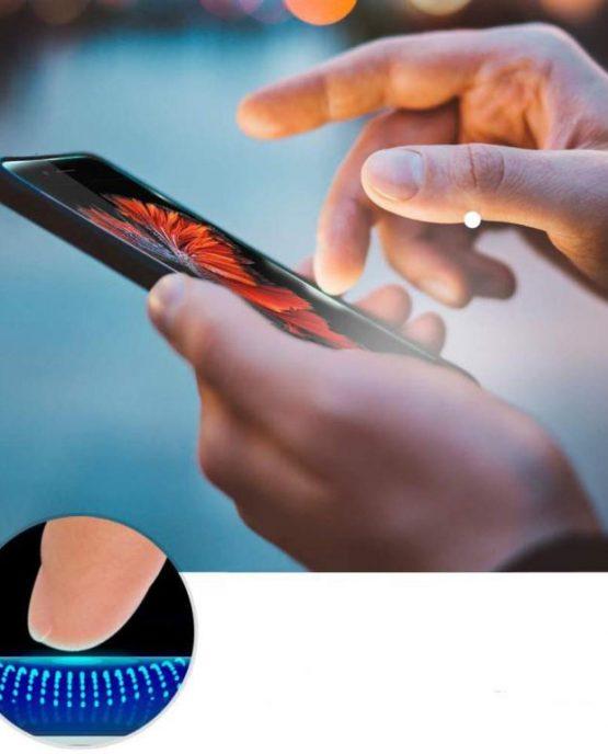 Защитное стекло Spigen EZ FIT GLAS.tR SLIM для iPhone 8 Plus / 7 Plus