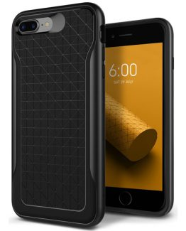 Чехол для iPhone 7 Plus / 8 Plus Caseology Apex Black Warm Gray