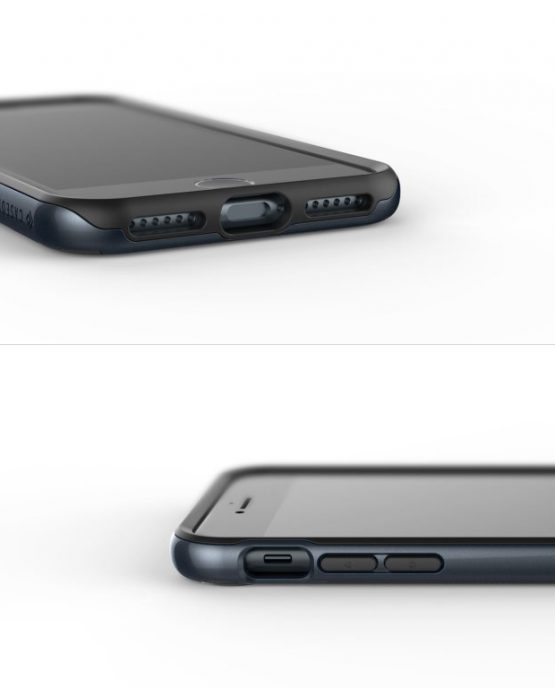 Чехол для iPhone 7 Plus / 8 Plus Caseology Parallax Black Deep Blue
