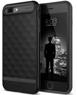 Чехол для iPhone 7 Plus / 8 Plus Caseology Parallax Matte Black