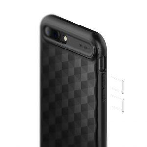 Чехол для iPhone 7 Plus / 8 Plus Caseology Parallax Matte Black