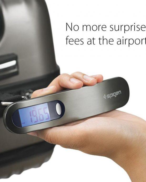 Цифровые дорожные весы Spigen E500 с LCD-дисплеем