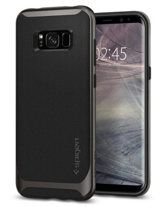 Чехол для Samsung Galaxy S8 Spigen Neo Hybrid Gunmetal