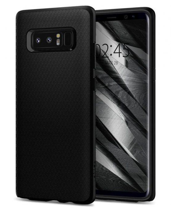 Чехол Spigen Liquid Air Armor Black для Samsung GalaxyNote 8