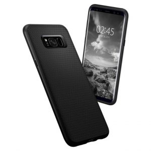 Чехол Spigen Liquid Air Armor Black для Samsung Galaxy S8