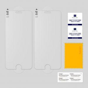 Защитное стекло Spigen GLAS.tR SLIM HD для iPhone 8 / 7