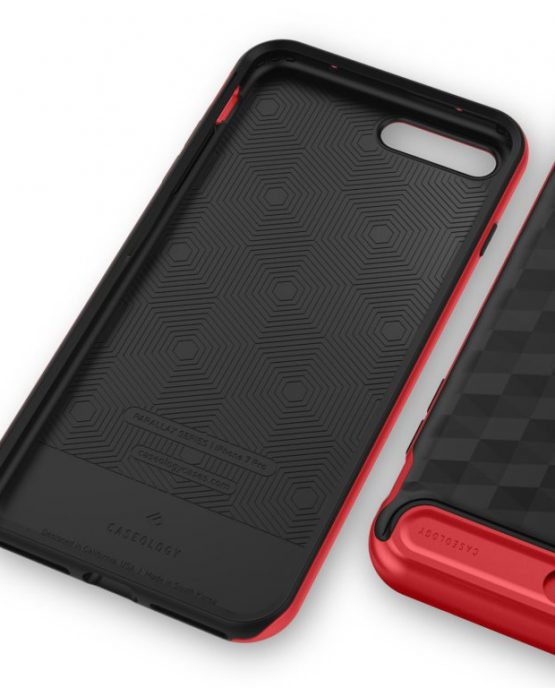 Чехол для iPhone 7 Plus / 8 Plus Caseology Parallax Black Red