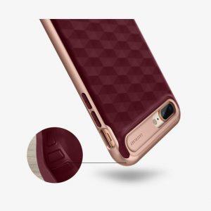 Чехол для iPhone 7 Plus / 8 Plus Caseology Parallax Burgundy