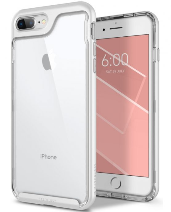 Чехол для iPhone 7 Plus / 8 Plus Caseology Skyfall White