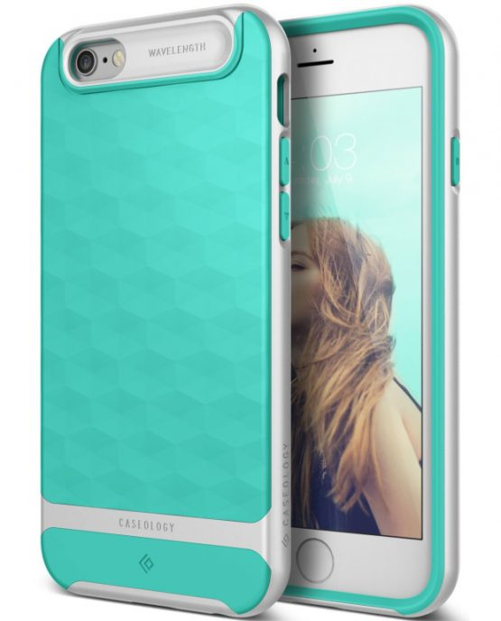 Чехол для iPhone 6 / 6S Caseology Parallax Mint Green
