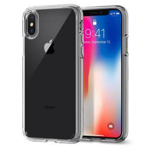 Чехол Spigen Ultra Hybrid Crystal Clear для iPhone XS/X