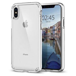Чехол Spigen Ultra Hybrid Crystal Clear для iPhone X