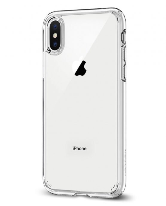 Чехол Spigen Ultra Hybrid Crystal Clear для iPhone X