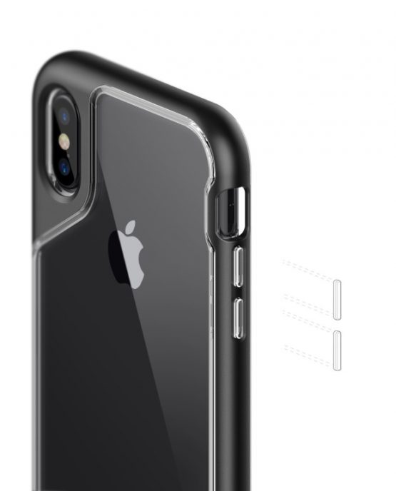Чехол для iPhone XS/X Caseology Skyfall Black