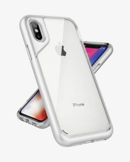 Чехол для iPhone XS/X Caseology Skyfall White