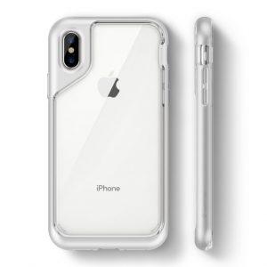 Чехол для iPhone XS/X Caseology Skyfall White