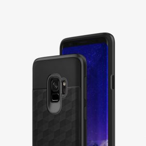 Чехол для Samsung Galaxy S9 Caseology Parallax Black