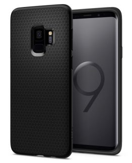 Чехол Spigen Liquid Air Armor Black для Samsung Galaxy S9