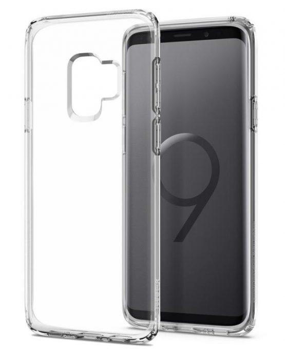 Прозрачный чехол Spigen Liquid Crystal для Samsung Galaxy S9