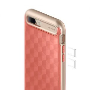 Чехол для iPhone 7 Plus / 8 Plus Caseology Parallax Coral Pink