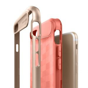 Чехол для iPhone 7 / 8 Caseology Parallax Coral Pink