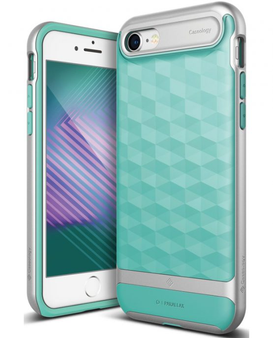 Чехол для iPhone 7 / 8 Caseology Parallax Mint Green