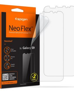 Защитная плёнка Spigen Screen Protector NeoFlex HD для Samsung Galaxy S9 Plus (2шт.)