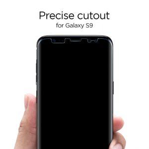 Защитная плёнка Spigen Screen Protector NeoFlex HD для Samsung Galaxy S9 Plus (2шт.)